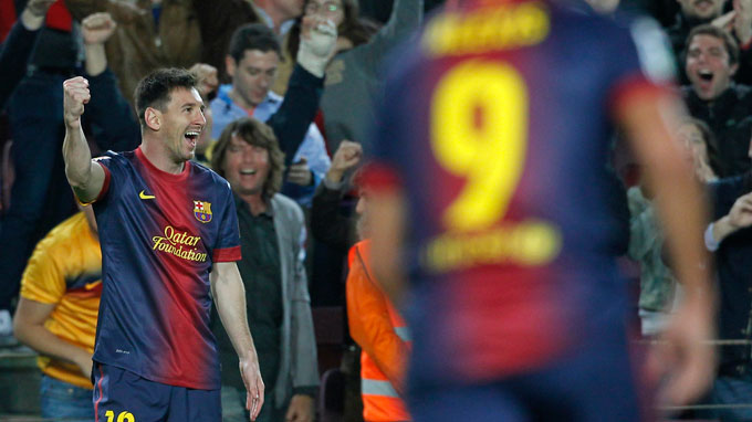 Supersub Messi edges Barcelona closer to title