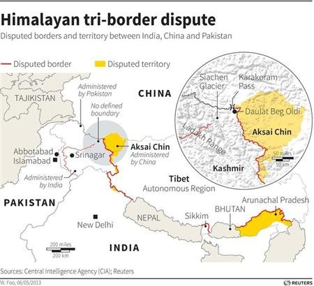 India says China agrees retreat to de facto border in faceoff deal