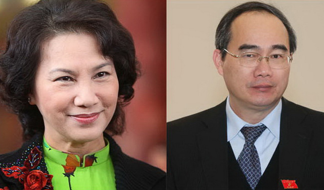 Two officials added to Party's Politburo