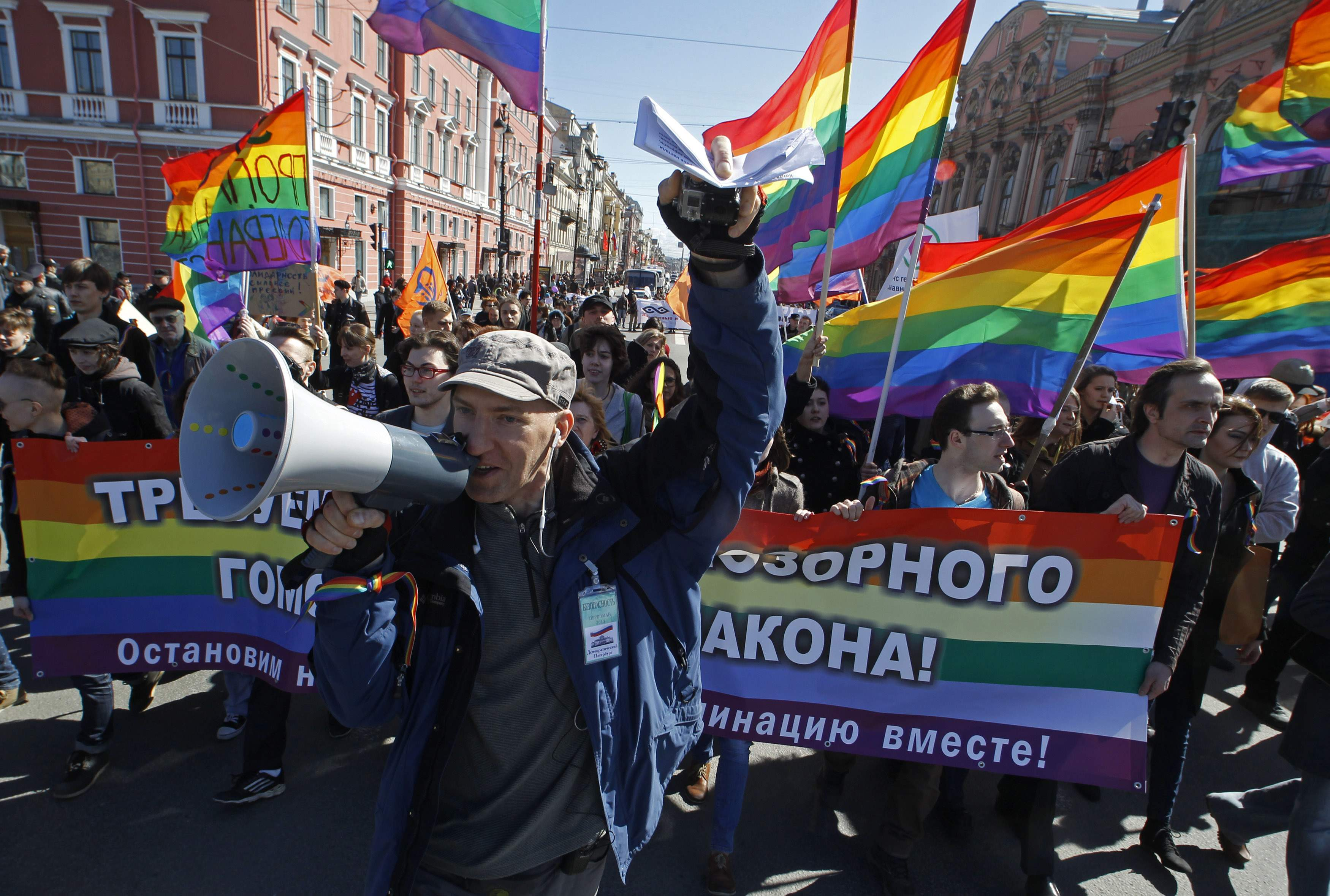 Russian man tortured to death for 'being gay'