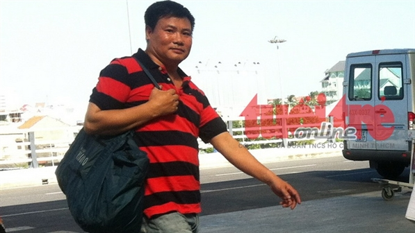 Blogger Truong Duy Nhat arrested