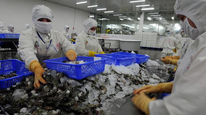 U.S., Vietnam reach deal on U.S. imports of Vietnamese shrimp