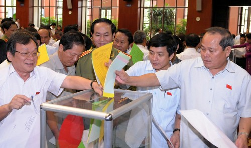 Confidence vote results for Vietnam leaders announced