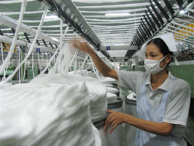 VN textile and apparel post strong S.Korean growth
