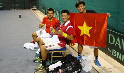 Vietnam promoted at tennis' Davis Cup