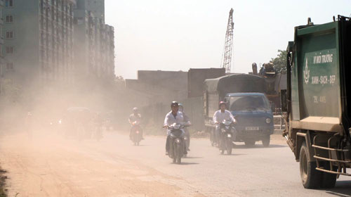 HCMC, Hanoi seriously polluted with lead dust: report