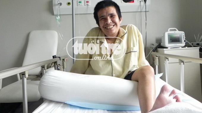 Vietnamese man who had 200lb tumor removed dies