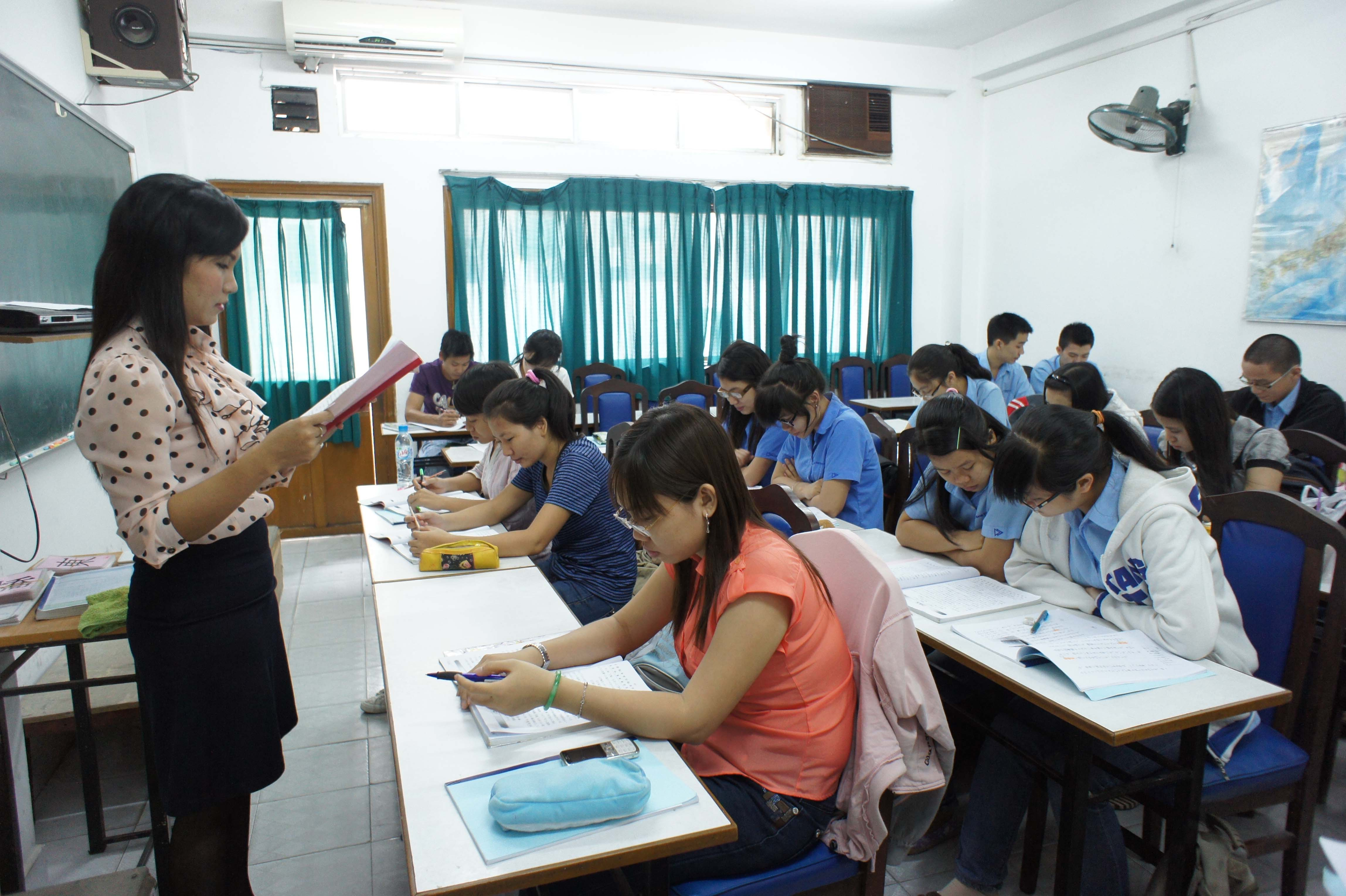 Japanese university teaches free language classes in Mekong province