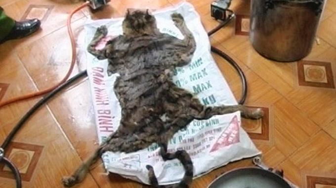 Man caught making tiger bone paste illegally