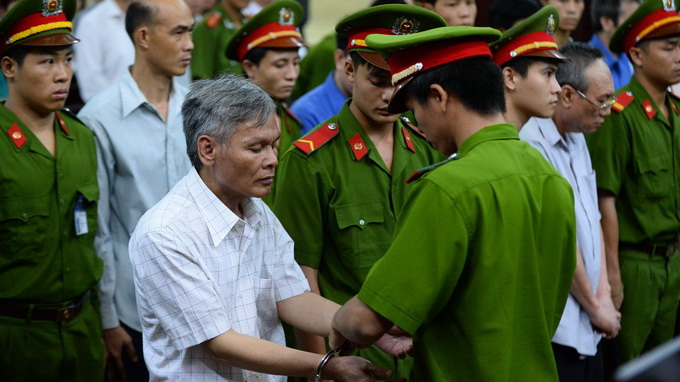 2 get death as first of VN top corruption cases tried