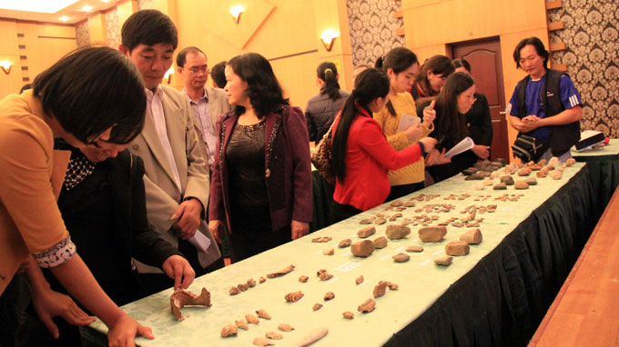 Ancient Vietnamese artifacts unearthed in northern province