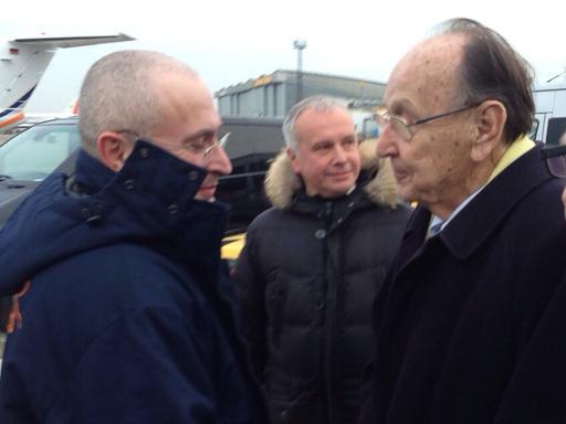 Free in Germany, Putin foe Khodorkovsky mulls future