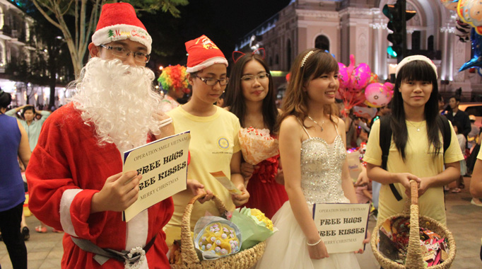 Cold weather in Saigon lasts until New Year