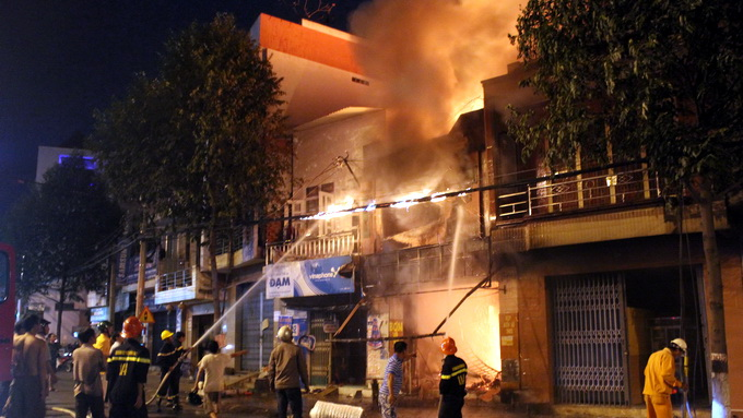 At least five die in bike seat cover shop fire