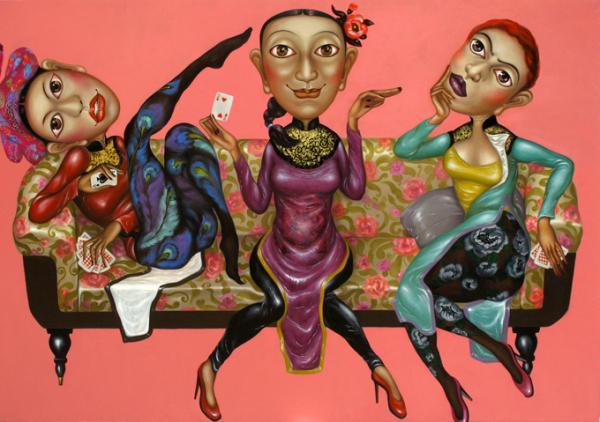 An artwork showcased at Craig Thomas Gallery