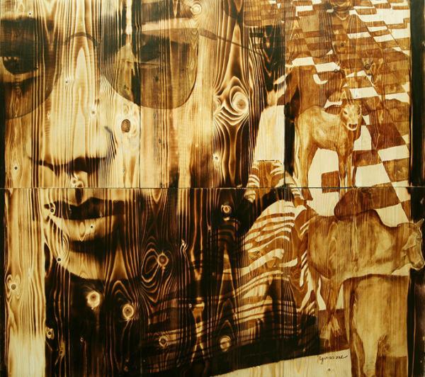 An artwork featured at Craig Thomas gallery