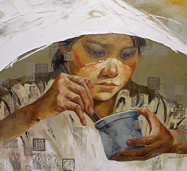 An artwork exhibited at Craig Thomas Gallery