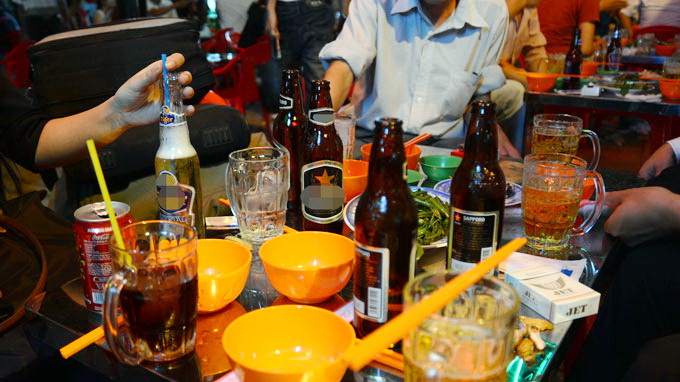 VN among countries with highest alcohol consumption increase rates