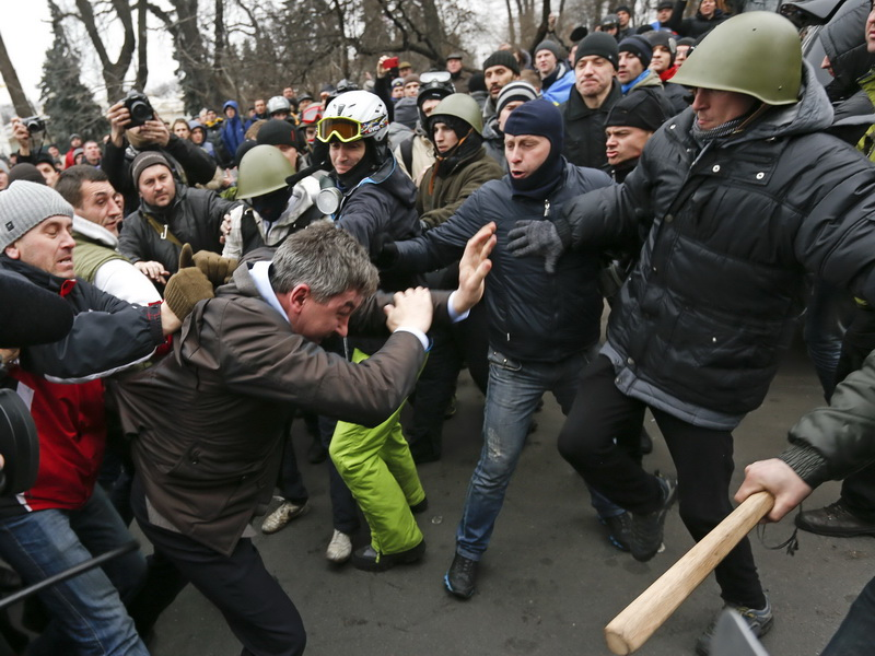 After Day Of Drama, Who Rules Ukraine?