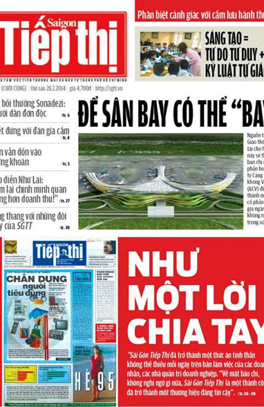 HCMC newspaper changes owner, releases final edition