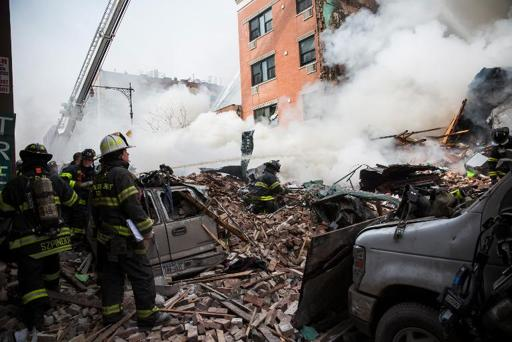NYC building collapse kills one, injures 17