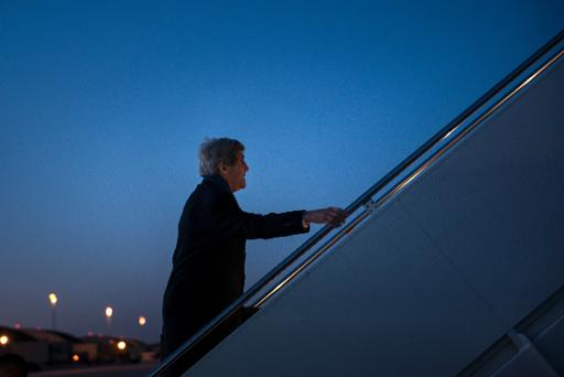 Kerry arrives in London for last-ditch Ukraine talks