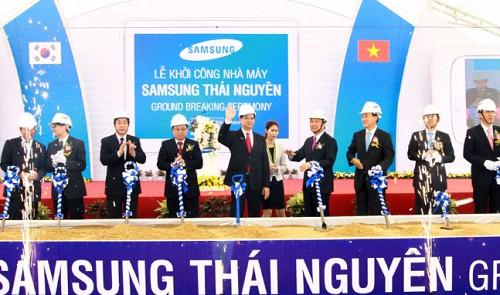 Samsung puts $2 bln Vietnam phone plant into operation