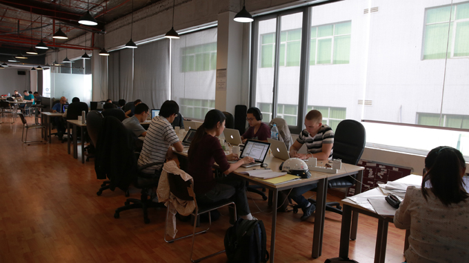 Co-working increasingly appeals to youth in Vietnam's southern hub