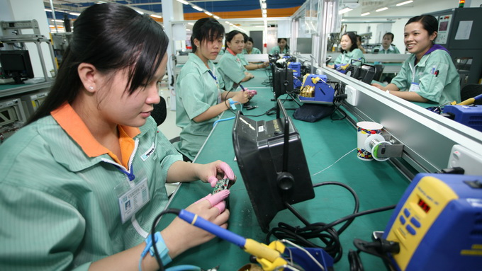 FDI inflow to Vietnam rises over 30 percent y-o-y in Jan-Aug: statistics