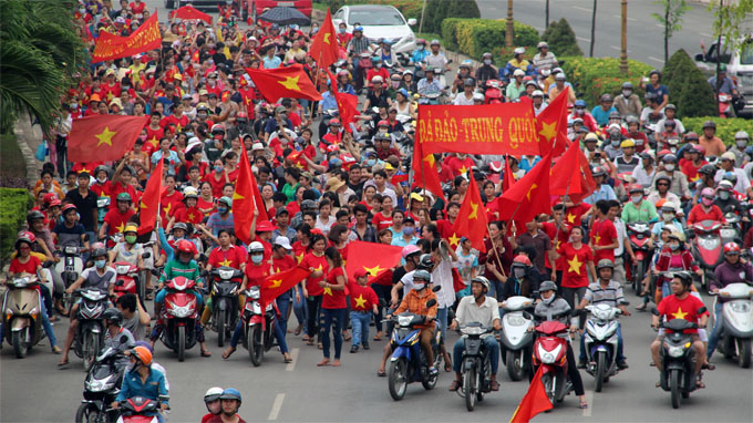 Vietnam police detain over 600 rioters in southern localities