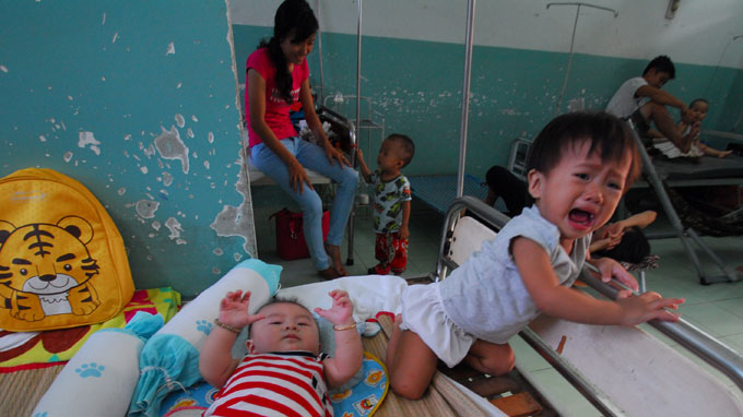 HFMD may reach epidemic level in Vietnam hub this year