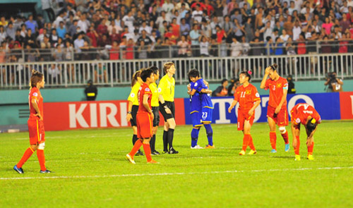 Vietnam concede Women's World Cup ticket to Thailand after 1-2 loss