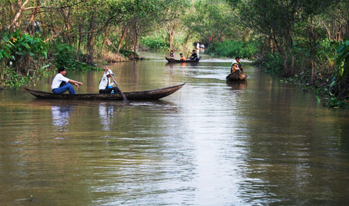 Vietnam's Mekong Delta sees an increase of tourists in 2014