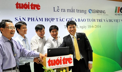New website launched to slake Vietnamese thirst for learning English
