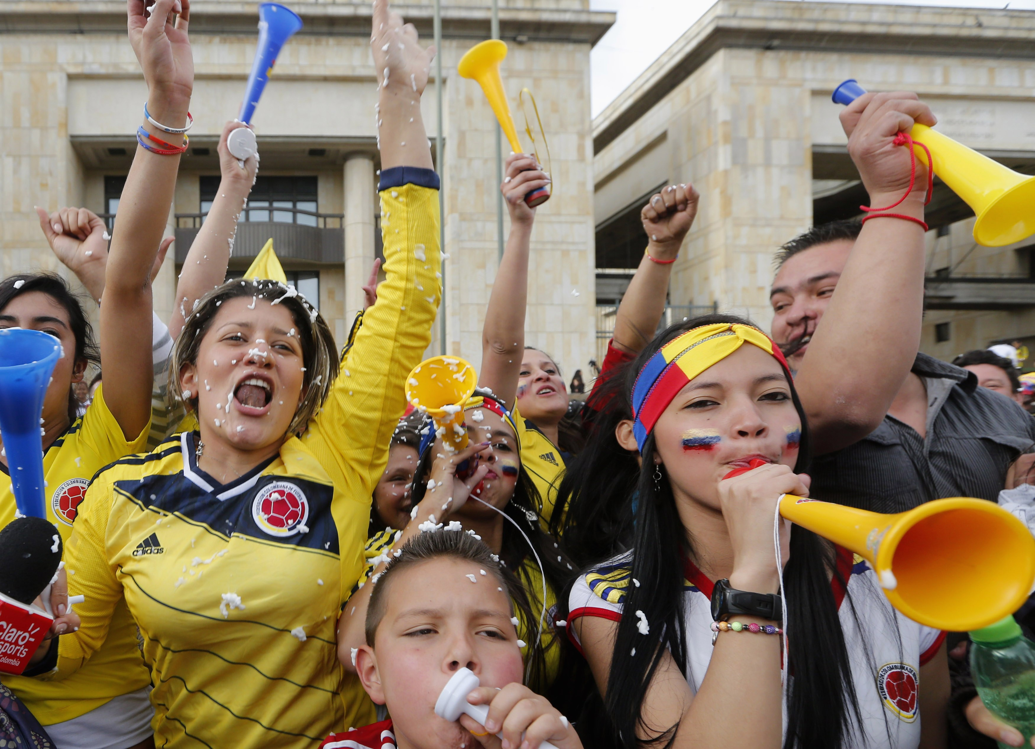 Colombia relish prospect of beautiful game with Brazil