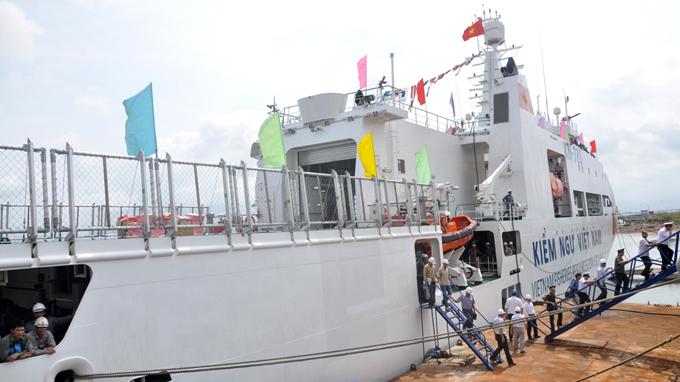 Vietnam puts most advanced fisheries surveillance ship into operation amid sea tension