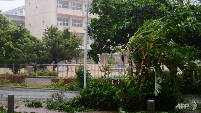 Japan on highest typhoon alert, 480,000 urged to take shelter