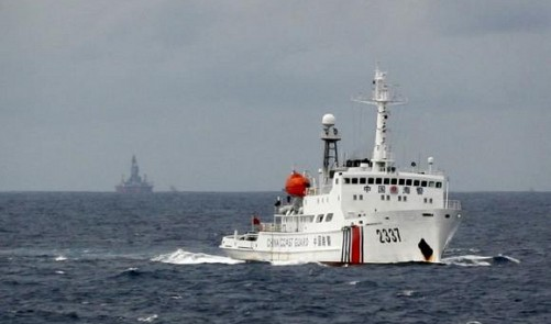 China's oilrig moving near Vietnam waters, heading to Indian Ocean