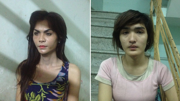 2 lady boys arrested for robbing foreigner in Vietnam's backpacker area