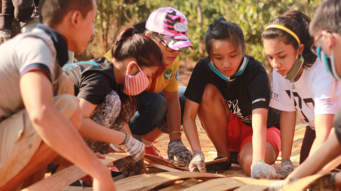 Youth develops community service learning in Vietnam