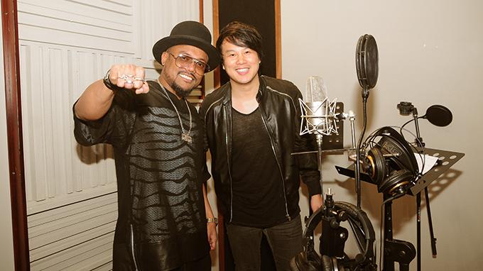 Black Eyed Peas rapper optimistic about Vietnam singers