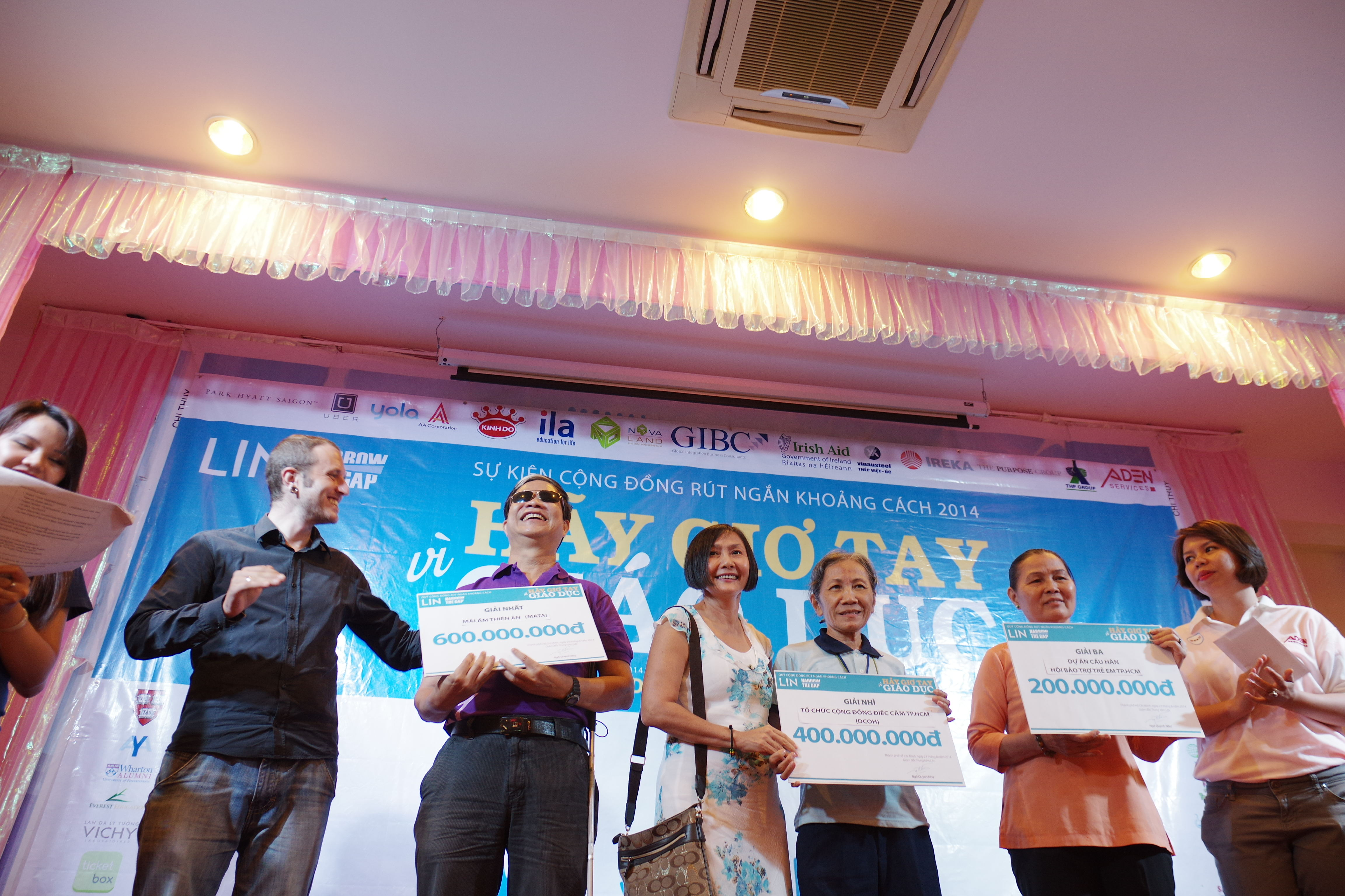 Nonprofits win US$56,510 grant for community projects in Vietnam