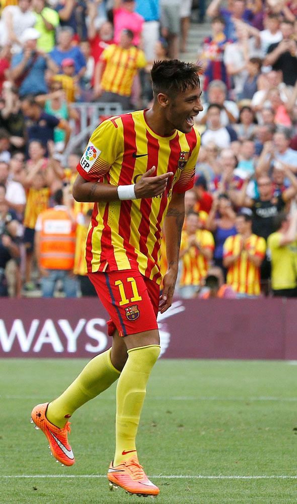 Sparkling Neymar double secures 2-0 Barca win over Bilbao