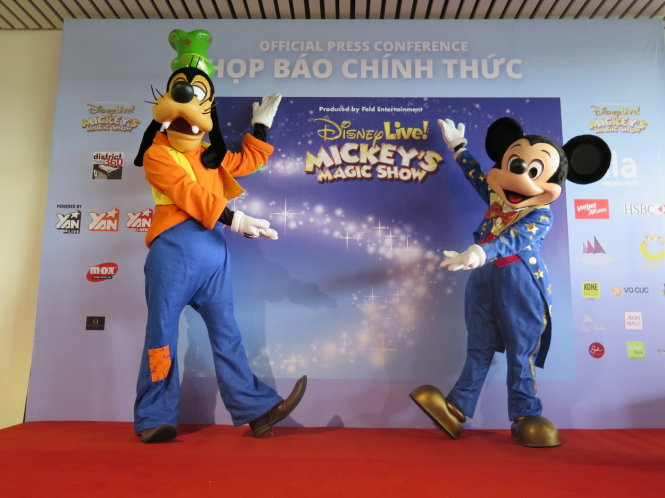 Disney's Mickey, Goofy to wow kids in Vietnam later this month
