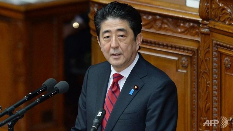 Russia's Putin and Japan's Abe discuss bilateral ties, Ukraine