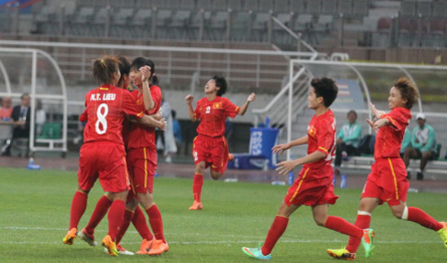 Lonely victory for Vietnamese women's football at Asiad