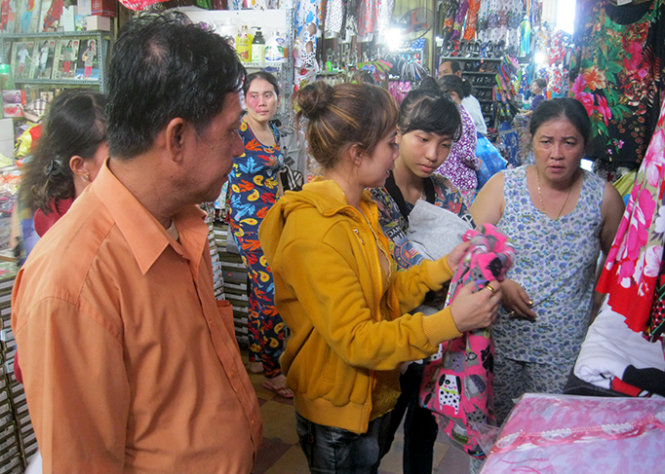 Smuggled Thai products outplay Vietnam goods in Mekong Delta markets