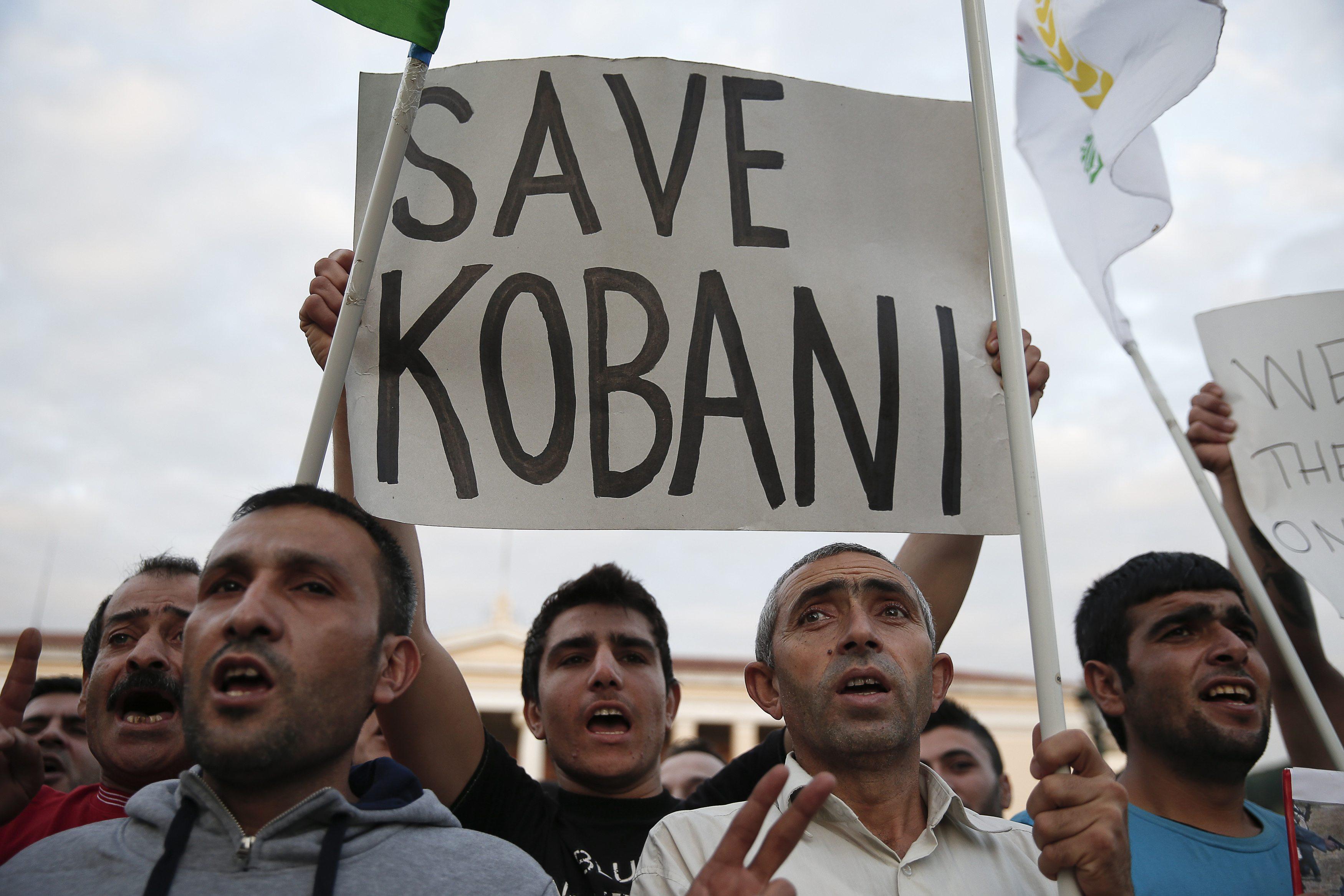 Renewed assault on Kobani; 21 dead in Turkey as Kurds rise
