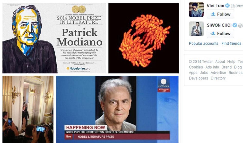Patrick Modiano wins 2014 Nobel Prize for Literature