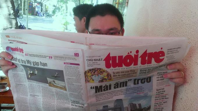 Breakfast @ Tuoi Tre News – April 16